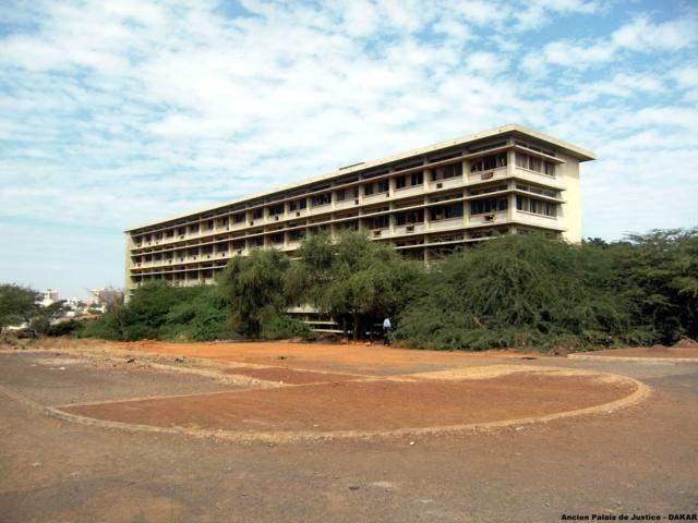 Ancien Palais de justice sis au Cap manuel