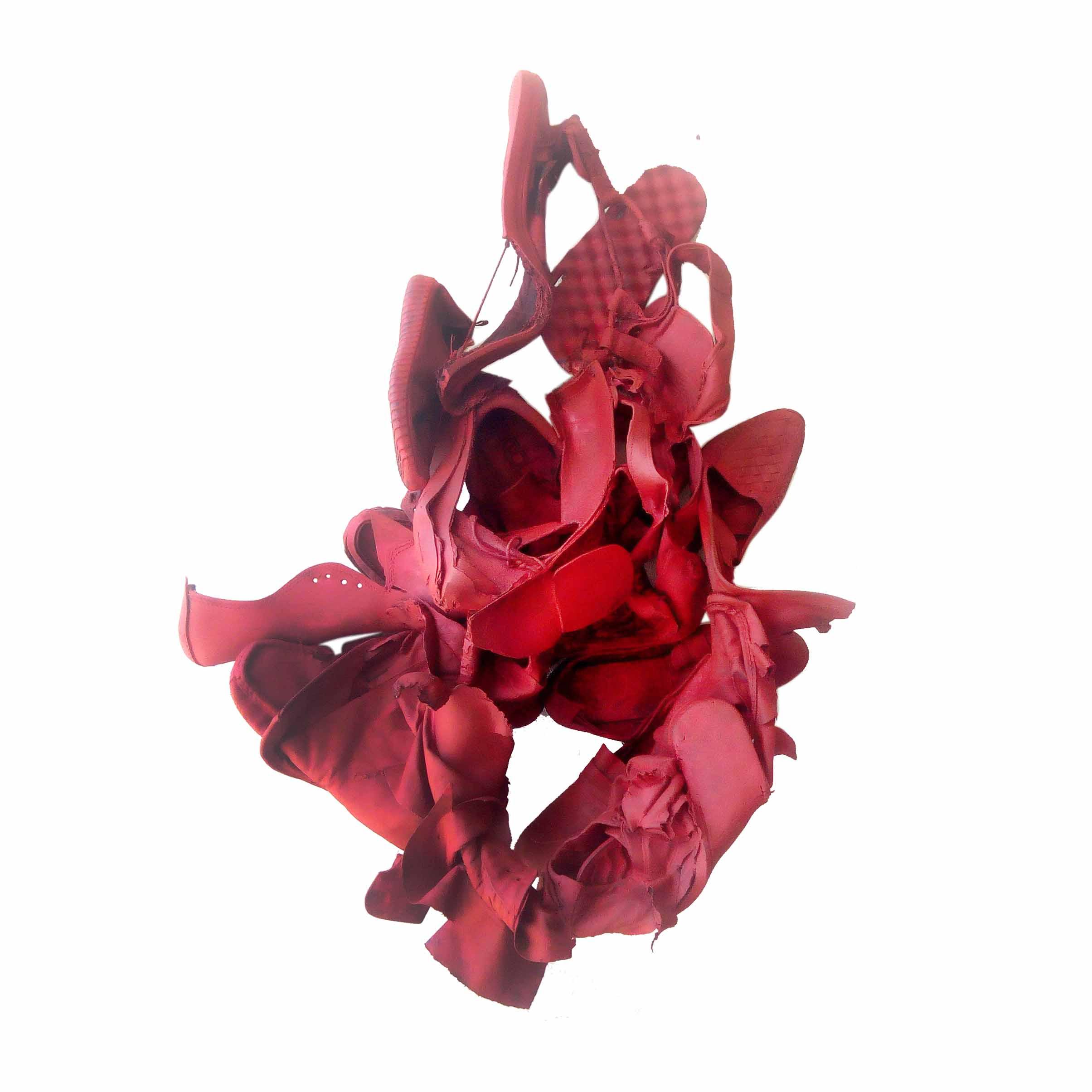 Achille ADONON: Asyà, série d'oeuvres sculpturales